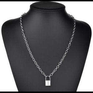 Chain Lock Necklace